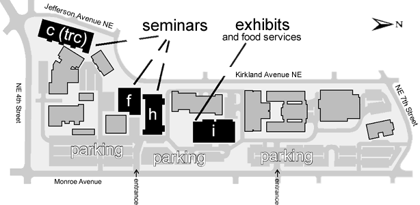 Campus Map Washington State Small Business Fair